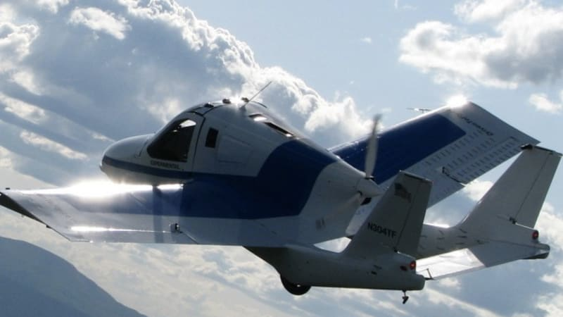 Terrafugia Transition flying car going on sale next year