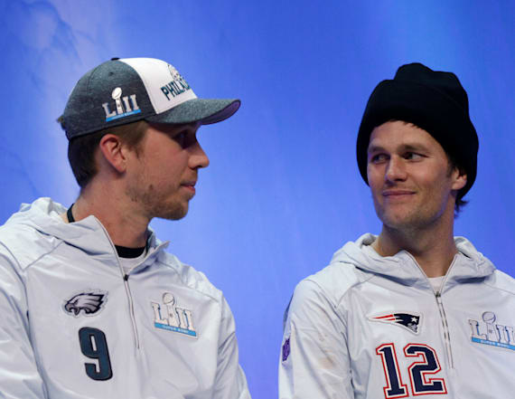 Nick Foles comments on Tom Brady handshake snub