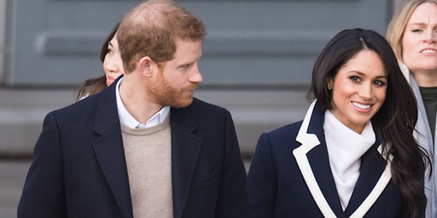 Meghan Markle and Prince Harry visit Millennium Point on March 8, 2018, in Birmingham, England.