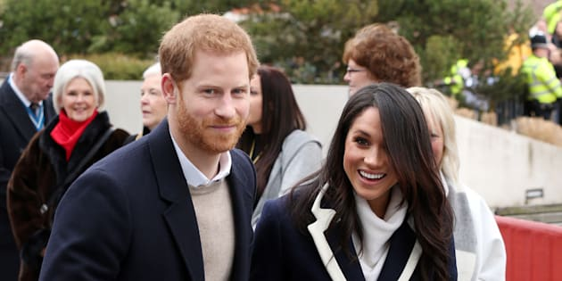 Prince Harry and Meghan Markle visiting Millenium Point on March 8, 2018 in Birmingham, U.K.
