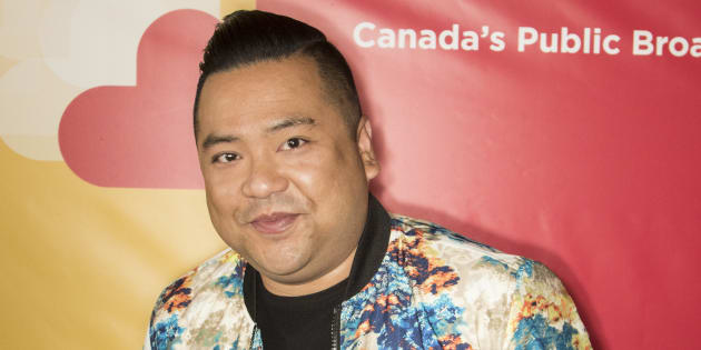 'Kim's Convenience' actor Andrew Phung at the Banff World Media Festival on June 10, 2018. Phung says he overheard a Toronto police officer making a racist comment on Saturday, July 7.