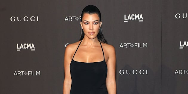 Kourtney Kardashian attends the 2018 LACMA Art+Film Gala at LACMA on November 3, 2018 in Los Angeles, California.