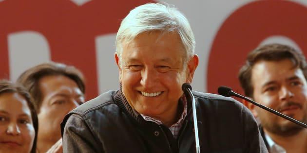 Andrés Manuel López Obrador se encuentra haciendo cierres de campaña en diferentes estados del país.