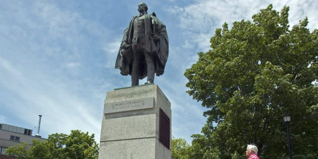 A statue of Edward Cornwallis in a Halifax park is shown in this file image from June 23, 2011.
