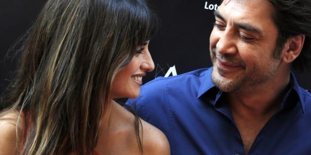 Penélope Cruz et Javier Bardem le 27 juin 2011 à Madrid.