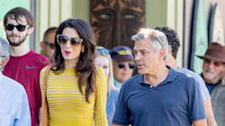 Amal Clooney Is Just Too Groovy In Flashy Embroidered