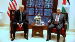 El líder palestino Mahmud Abbas acusa a Trump de gritarle durante