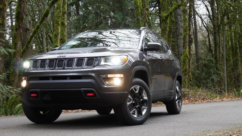 2018 Jeep Compass Trailhawk Drivers