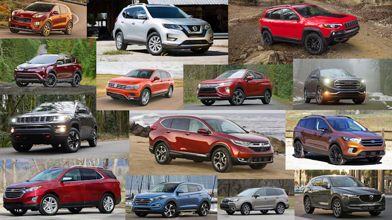 Compact Suv Comparison Featuring Specs