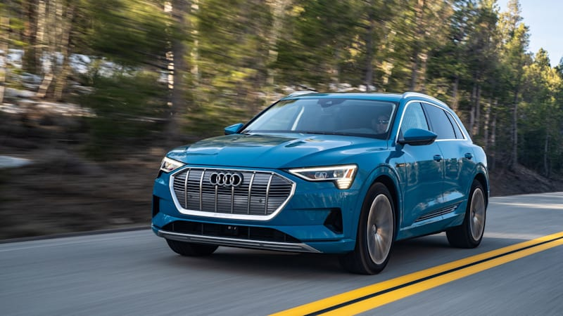 2020 Audi E-Tron Quick Spin Review
