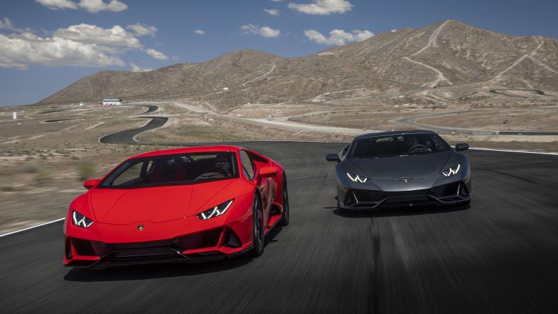 2020 Lamborghini Huracan EVO Track Test Review