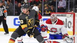 Les Golden Knights doublent le Canadien