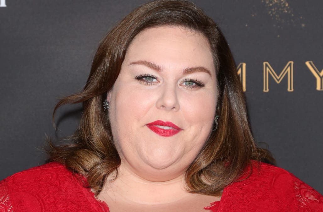 Chrissy Metz wears red lace to Television Academy event in