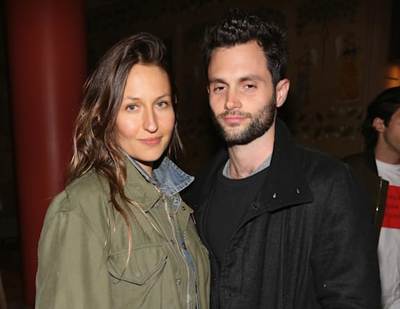 Penn Badgley and Domino Kirke get married again