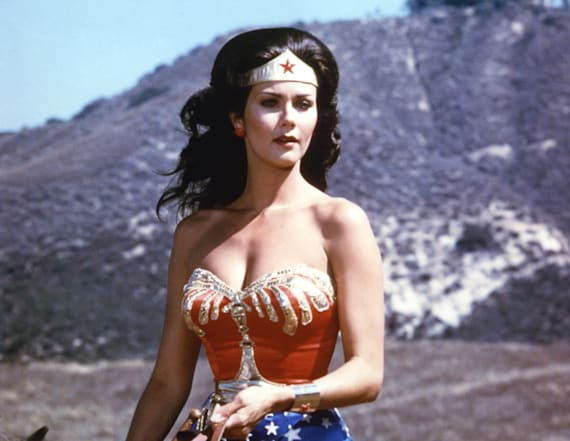 Original 'Wonder Woman' star is gorgeous at 65