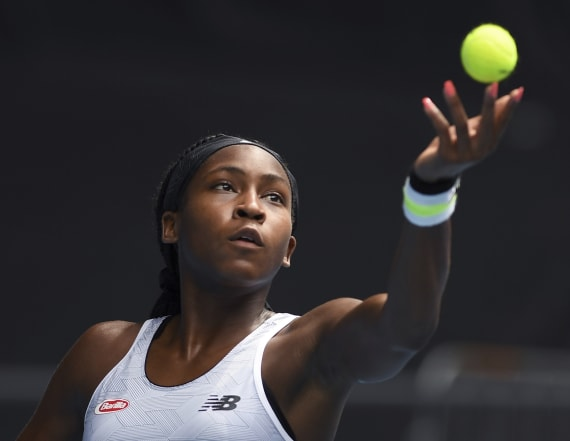 Coco Gauff, 16, delivers powerful protest speech