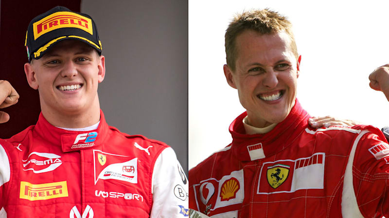There Will Always Be Parallels Drawn Between Mick And Michael Schumacher