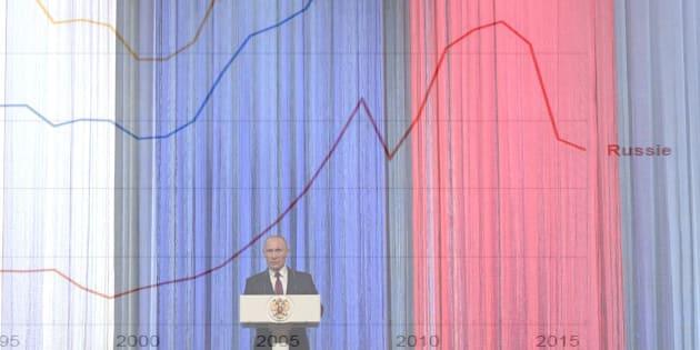 Russie: Derrière l'omniprésence diplomatique de Poutine, l'échec cinglant de sa politique économique