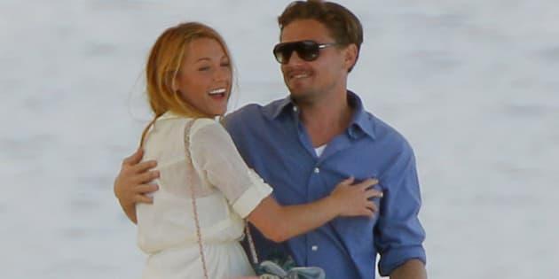 Leonardo DiCaprioy Blake Lively en Cannes en 2011