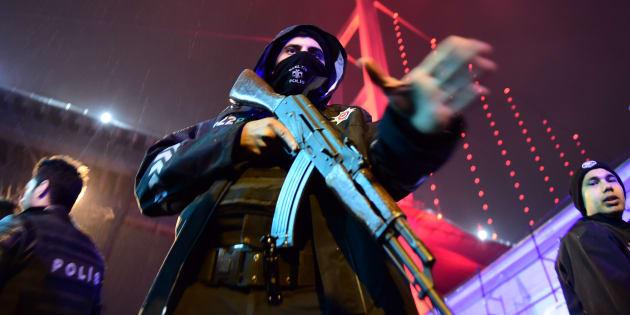 (Photo d'illustration): Le groupe jihadiste État islamique revendique l'attentat dans la discothèque d'Istanbul