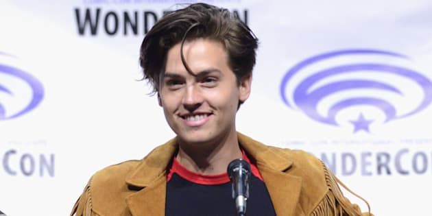 Actor Cole Sprouse on the 'Riverdale' panel at WonderCon at the Anaheim Convention Center on March 31, 2017 in Anaheim, Calif.