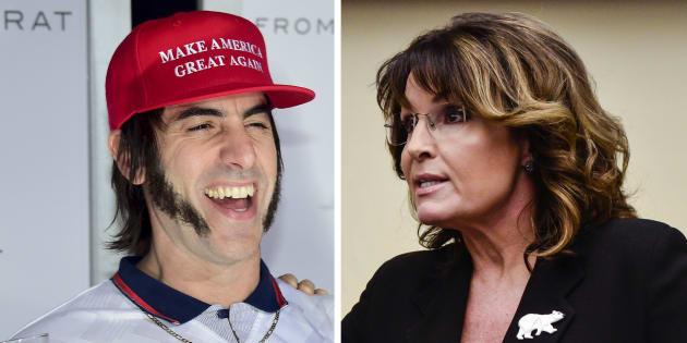 """Sarah Palin hors d'elle après un canular """"maléfique"""" de Sacha Baron Cohen"""