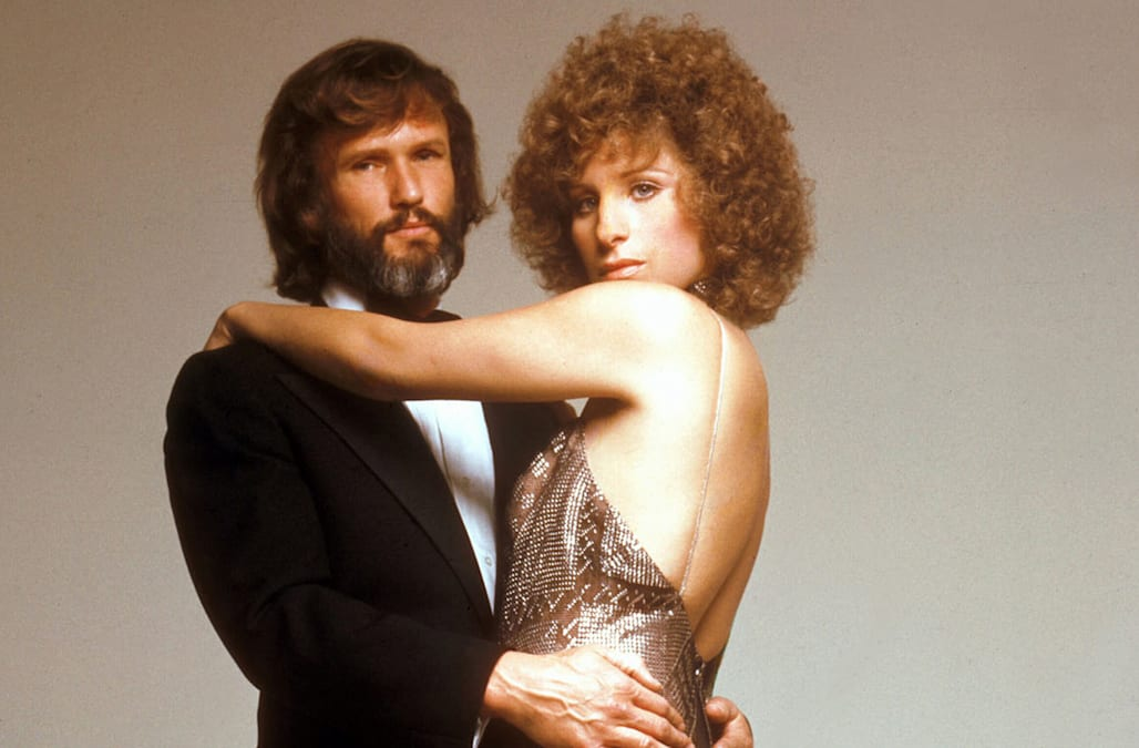 A look back at Barbra Streisand and Kris Kristofferson in 'A