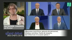 Raymonde Chagnon poursuit sur sa lancée après le débat des