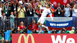L'esultanza di Cristiano Ronaldo è ancora più bella del