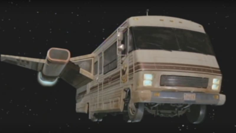 Winnebago scale model from 'Spaceballs' to be auctioned
