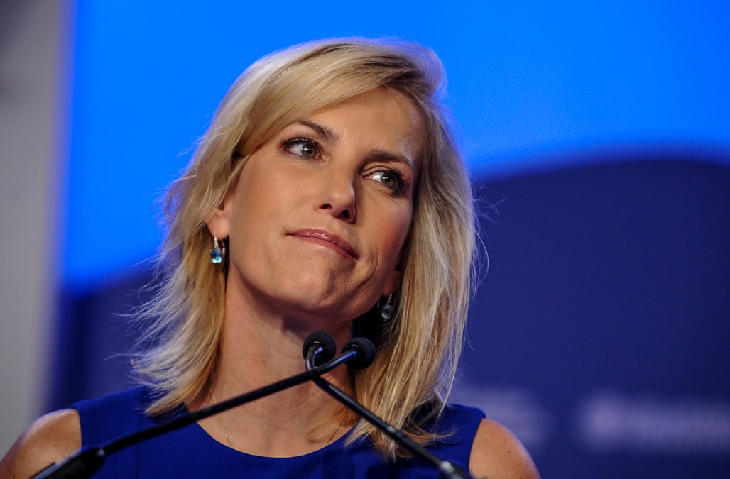 4256429f1f3 Laura Ingraham distances herself from  racist freak  who agreed with her  rant