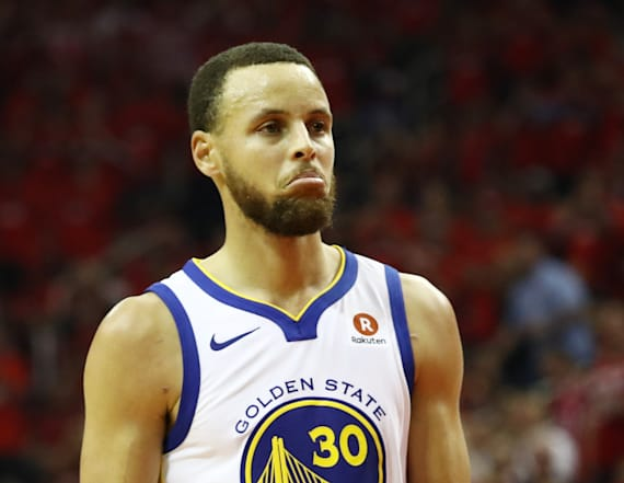 Curry's mom grounds him for explicit celebration
