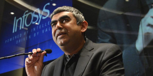 File photo of Infosys CEO Vishal Sikka.