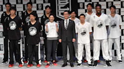 「被災地を元気に」Bリーグオールスター熊本開催、選手らが思い語る 東京でファンイベント、「インスタ映え」競う一幕も