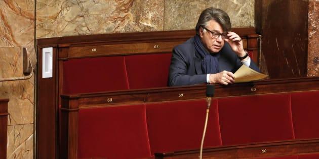 Le député apparenté FN Gilbert Collard