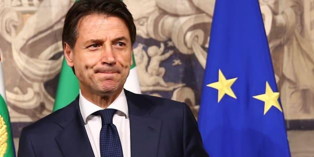 Giuseppe Conte, le 27 mai 2018.
