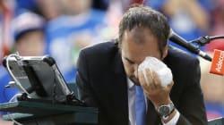 Le coup de sang d'un joueur s'est mal terminé pour l'arbitre français de la Coupe