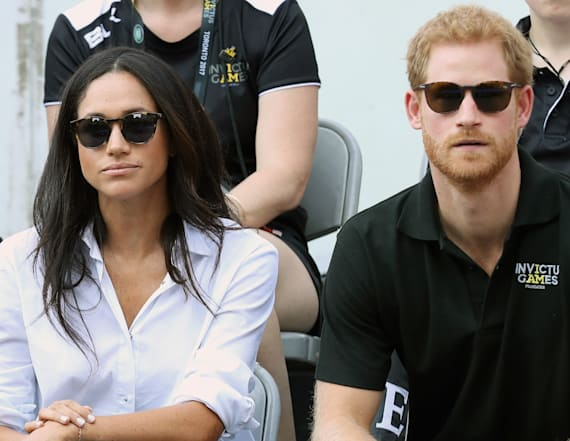 Meghan and Harry spotted holding hands!