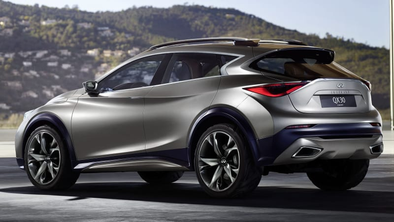 Infiniti Certified Pre Owned >> First Infiniti QX30 Concept image released ahead of Geneva ...