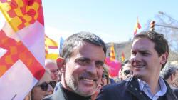 Rivera ultima la candidatura de Manuel Valls para las municipales de