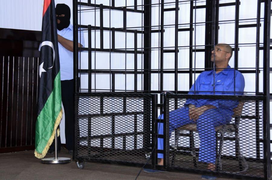 Dicen haber liberado al hijo de Gadafi