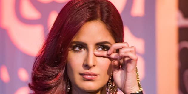 Katrina Kaif attends a photocall to unveil her new wax figure at Madame Tussauds
