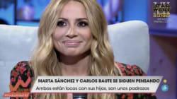 Marta Sánchez reivindica su versión del himno de