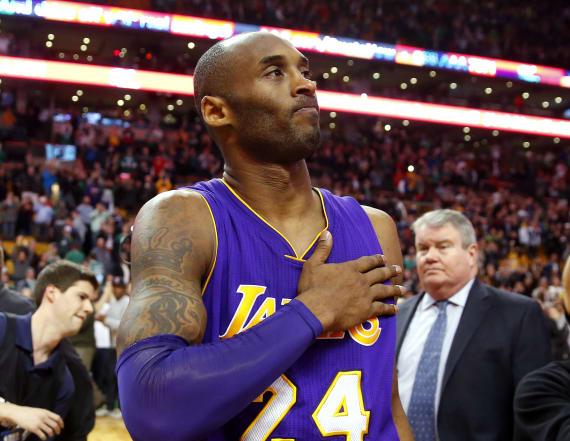 Woods heard cheers for Bryant before he heard news