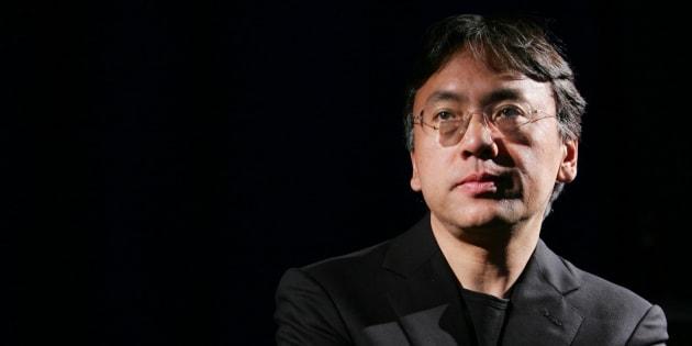Kazuo Ishiguro en una entrevista con Reuters en Nueva York, el 20 de abril de 2005.