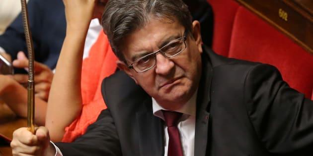 """Jean-Luc Mélenchon prend la défense de Wauquiez dans un billet enflammé contre la """"CIA médiatique""""."""