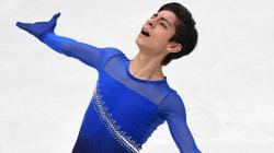 El 'patinador de Juan Gabriel' mejora su marca en el mundial en