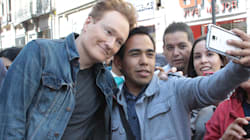 VIDEO: Conan O'Brien visita la Ciudad de