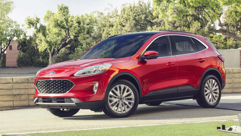 2020 Ford Escape Hybrid Estimated To Get 39 Mpg Autoblog
