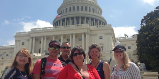 J'ai passé cette semaine à Washington DC avec une délégation de concitoyens canadiens extraordinaires comme participante au programme de leadership des visiteurs internationaux organisé par le Département d'État des États-Unis.